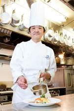 クサツエストピアホテル レストラン「リヴィエール」料理長  數田麿彦さん