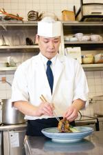 今津サンブリッジホテル 日本料理「葦海」 大槻哲也さん