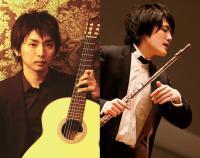 松本大樹(ギター)&上野星矢(フルート)